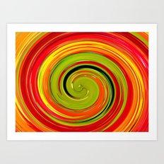 espiral Art Print