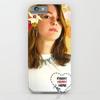 iPhone & iPod Case featuring T Shirt Promo by Hiver & Leigh