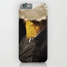 The inability of men with golden faces to be photographed without cloud. iPhone 6 Slim Case