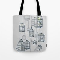 Last Bird in the Shop Tote Bag