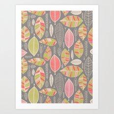 Leaf Study No. 1 Art Print