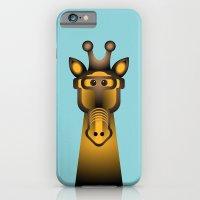 iPhone & iPod Case featuring Giraffe by Alejandro de Antonio Fernández