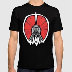 the Red Knight SMALL Black Mens Fitted Tee