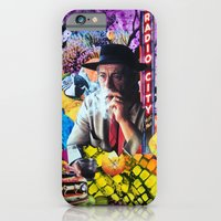 iPhone Cases featuring The Second Most Interesting Man in the World by John Turck