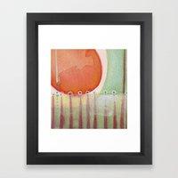 Penetrate Framed Art Print