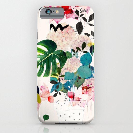 Jane Soleil iPhone & iPod Case by Danse De Lune