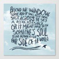 BIRD OR SOUL Canvas Print