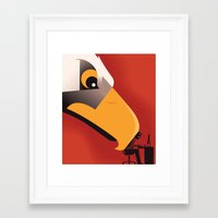 Surveillance State Framed Art Print