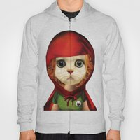 Kitten red riding  Hoody