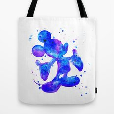 MICKEY, blue Tote Bag