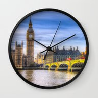 Westminster Bridge And B… Wall Clock