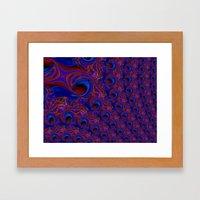 The Quilt Framed Art Print