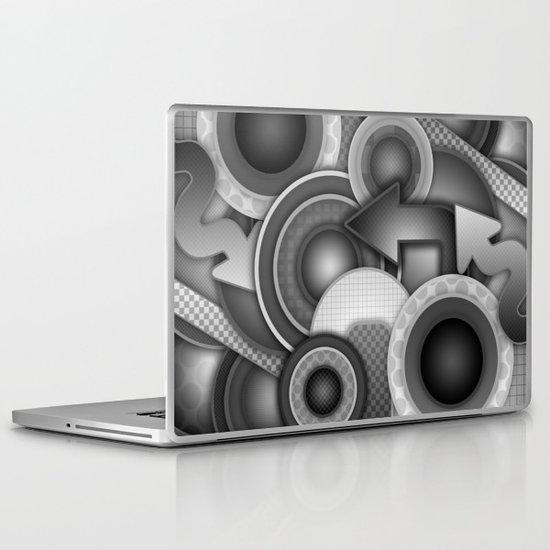 Monochrome Mayhem  Laptop & iPad Skin