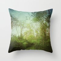 Follow Your Life Path Throw Pillow