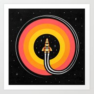 Into The Outer Art Print