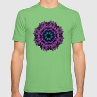 Celtic Brooch Mens Fitted Tee Grass SMALL