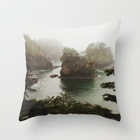Cape Flattery Throw Pillow