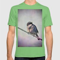 A New York City Sparrow Mens Fitted Tee Grass SMALL