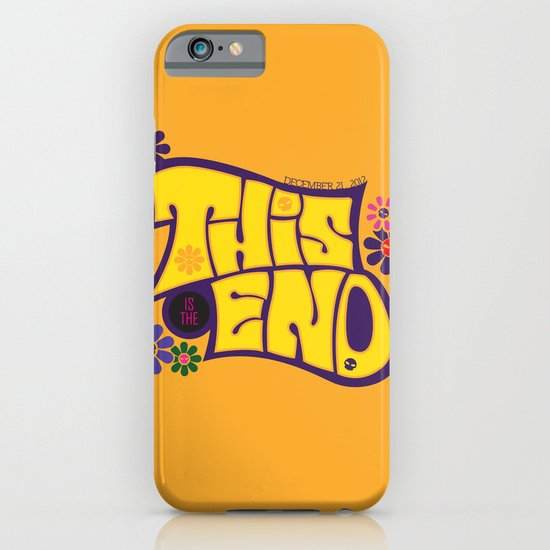 This is THE END iPhone & iPod Case