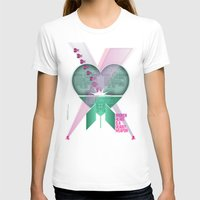 Broken Heart Is A Deadly… Womens Fitted Tee White SMALL