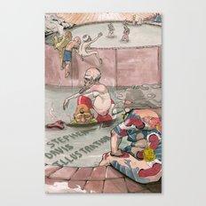 Bath House 1 Canvas Print