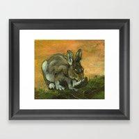 BunnyFoot Framed Art Print