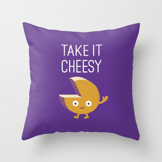 Gouda Bye Throw Pillow