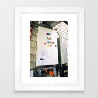 Buy Fat Hops, Hallertau Brewbar & Restaurant, Riverhead, NZ Framed Art Print