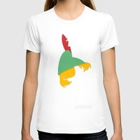 Panhook Womens Fitted Tee White SMALL
