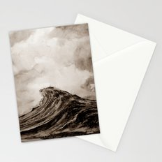 The WAVE - sepia Stationery Cards