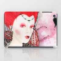 The Queen Of Hearts iPad Case