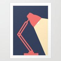 #14 Lamp Art Print