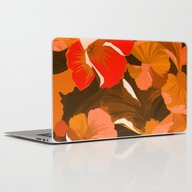 Donna's Autumn Woodcut Laptop & iPad Skin