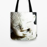 LET SMILE  Tote Bag