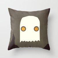 All Hallows' Eve Throw Pillow