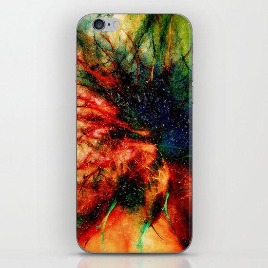 Frosen Flower iPhone & iPod Skin