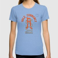 Sole Currency Regina Womens Fitted Tee Tri-Blue SMALL