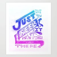 Feelin' It Art Print