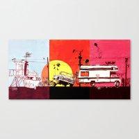 Triptych  Canvas Print