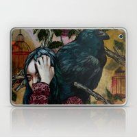 'You can keep me in one of your cages and mock my loss of liberty' Laptop & iPad Skin