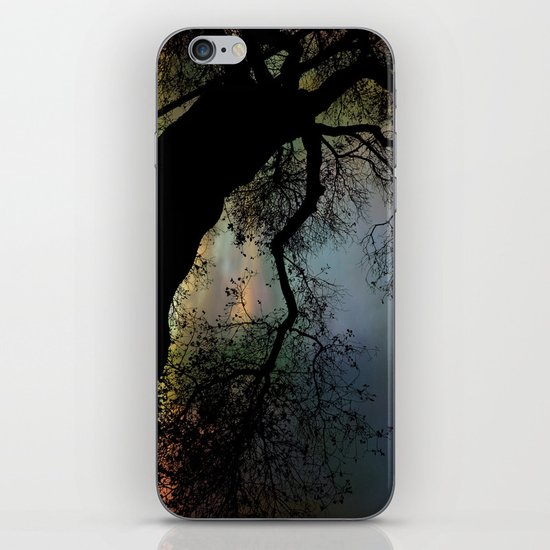 Night Fall by The Tree iPhone & iPod Skin