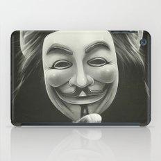 Anonymous iPad Case