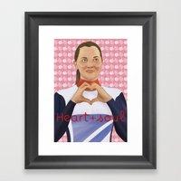 Heart & Soul Framed Art Print