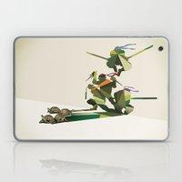 Walking Shadow, Turtles Laptop & iPad Skin