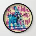POOR PRECIOUS EGG Wall Clock