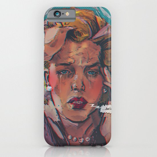 ... but i love you ... iPhone & iPod Case