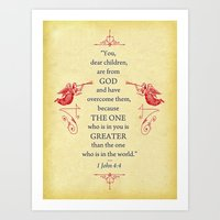 Greater Art Print