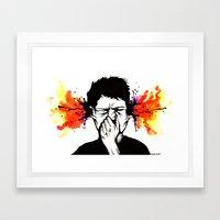 Gazuntite Framed Art Print