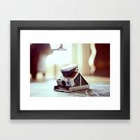 SX-70 Framed Art Print