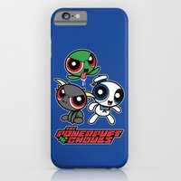 iPhone & iPod Case featuring The Powerpuft Ghouls by Mike Handy Art